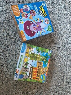 Tumble Rocket Tower Game & Monkey Tree Brand-New Ideal Christmas Gift  (NEW)
