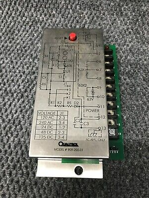 Qualitrol Seal-In Relay 909-200-01
