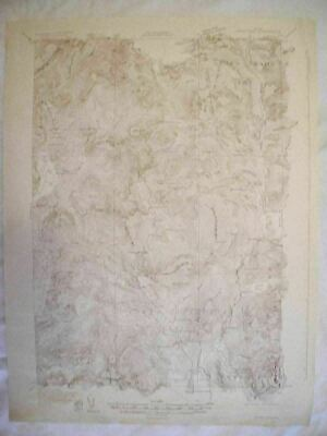 1931 Johns Pond, ME Maine USGS Topographic Topo Map