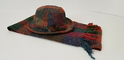 Studio Donegal Pure New Wool Hat And Scarf Handcrafted  Handmade Made In Ireland