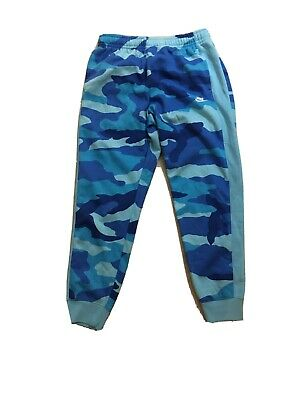 NIKE Sportswear CAMO Club Fleece Men's Pants Joggers Blue Medium BV3628 487