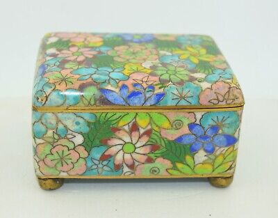 Chinese Qing Cloisonné Fine Box