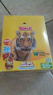 Sealed 12 Yowie Chocolate and surprise Series 4 Free shipping New in box