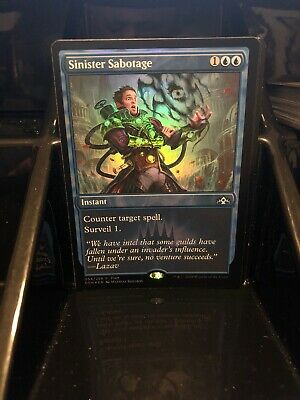 MTG Magic the Gathering Sinister Sabotage Friday Night FNM FOIL Promo NM