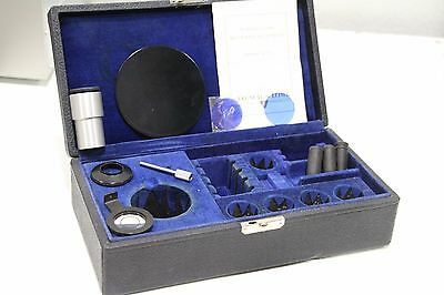 Bausch & Lomb Mechanical Stages Directions +Black Case Miscellaneous Parts Lens