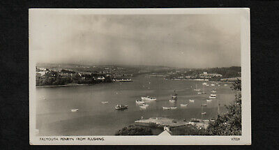 s1972)           VINTAGE POSTCARD OF FALMOUTH, PENRYN FROM FLUSHING  ENGLAND