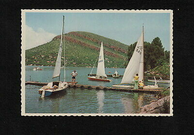 s2390) POSTCARD OF SAILING YACHTS HARTBEESPOORTDAM TRANSVAAL SOUTH AFRICA