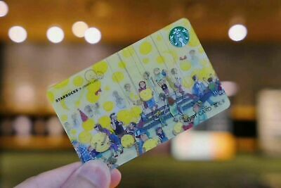 2019 China Starbucks Jimmy Crossover Street Version Gift Card Empty Pin uncover