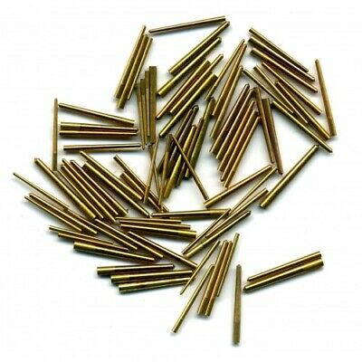 Brass Tapered Clock Pins (0.30 x 1.27 x 25.4mm) Clocks Pin Pack of 100 - CP11513
