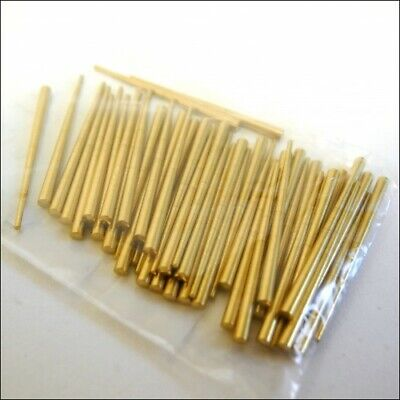 400 Day Brass Tapered Clock Pins (0.76-1.65mm) Clocks Pin (Pack of 40) - CP313