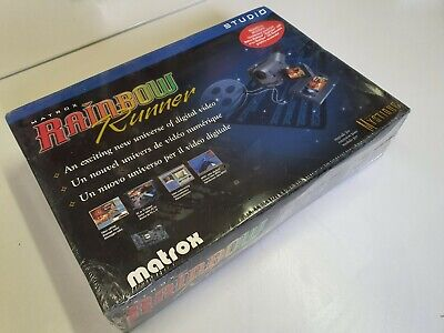 Matrox Rainbow Runner for Matrox Mystique. Vintage computing NIB New sealed