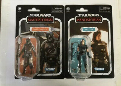 Star Wars 3.75 The Vintage Collection The Mandalorian VC166 Cara Dune VC164 Mint