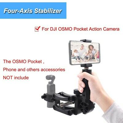 1 Set Universal Replaceable Four-axis Stabilizer Compatible with DJI OSMO Pocket