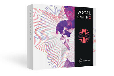 iZotope VocalSynth 2 Plugin - Genuine Serial License - Digital Delivery Mac & PC