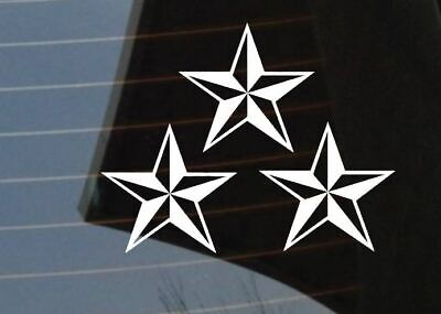 /'Nor Cal/' Old English w//nautical star Car Truck SUV Decal Sticker Window Graphic