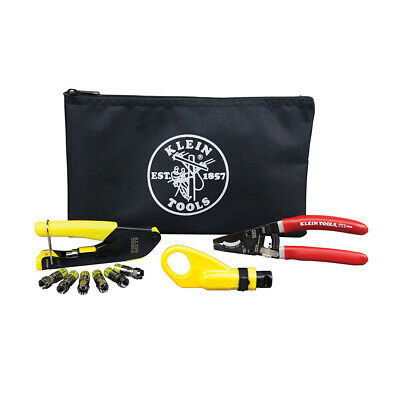 Coax Cable Installation Kit with Zipper Pouch 1EA