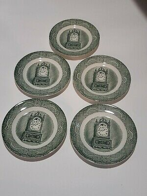 """6"""" Saucer THE OLD CURIOSITY SHOP Royal China Made In USA.  Lot of (5) 6"""" Saucers"""