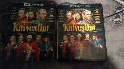 Knives Out (4K Ultra HD and Blu-ray Disk with Case and Slipcover) No Digital!