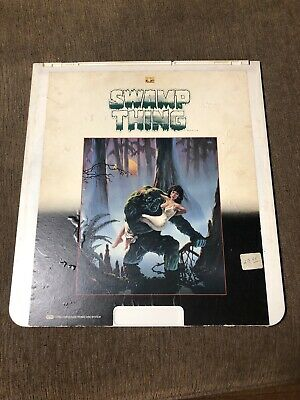 SWAMP THING - CED Videodisc  Selectavision