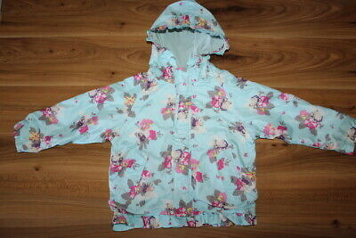 Joules girls floral rain coat 6 years *I'll combine postage*(78)