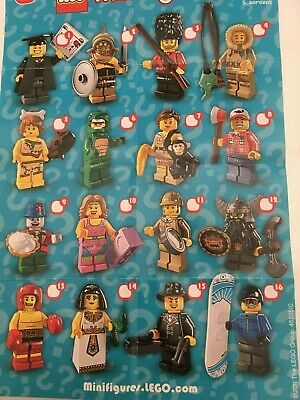 GENUINE LEGO MINIFIGURES FROM DISNEY SERIES 1 CHOOSE THE ONE YOU NEED