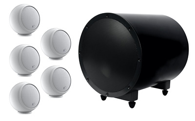 Anthony Gallo Micro 5.1 Black TR3D - 5 speakers and 1 subwoofer HOME CINEMA
