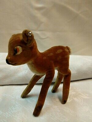FAWN, OLD AND ORIGINAL STEIFF TOY, 11cm, 35g