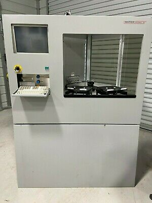 "Matrix Integrated System 10 Model 1107 TTW RIE Reactive Ion Etch Plasma 8"" Wafer"