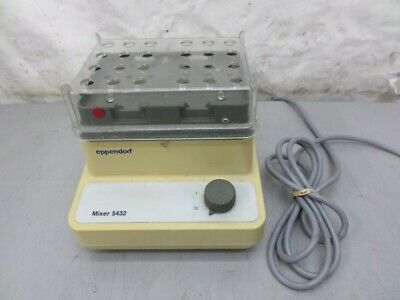 Eppendorf 5432 Mixer 24 Tube Tested Working Clear Top