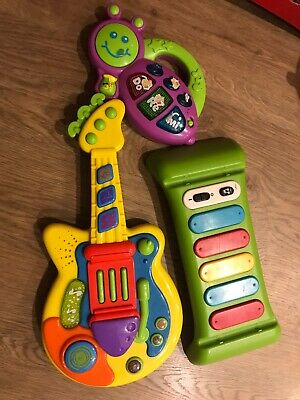 Toddler Baby Toy Musical Instrument Guitar Piano Light Sound ELC Pretend Play