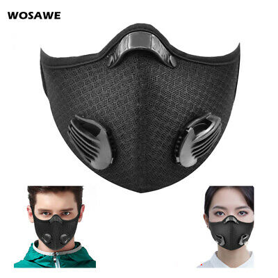 Air Purifying Face Shield Mouth Washable Dustproof Fog Cycling Riding Outdoor