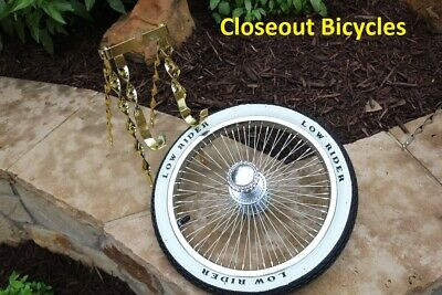 """Lowrider Bicycle Continental Kitwith Spare 16/"""" Wheel and Tire New 20/""""in"""