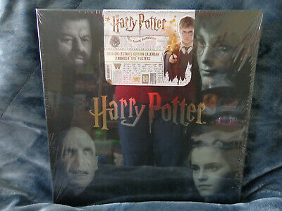 HARRY POTTER 2020 Collector's Edition Calendar with 2 bonus posters NEW