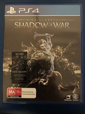 Middle Earth: Shadow Of War PlayStation 4