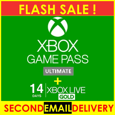 XBOX LIVE 14 Day GOLD + Game Pass ( Ultimate ) Trial Code - INSTANT DISPATCH