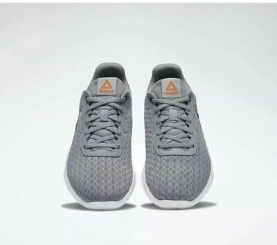 Reebok Mens Dart Tr Grey/White/Fieora Cross Training Shoes Size 8.5 Brand New!