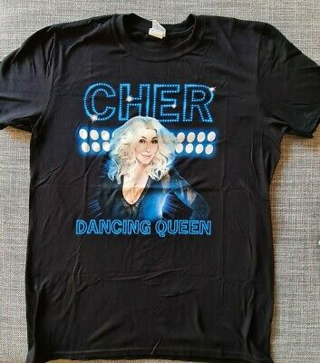 Cher Here We Go Again Official Tour Shirt 2019 Europe