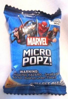 LOT OF 5 MARVEL MANIA MICROPOPZ Sealed Packs Unopened Airmiles
