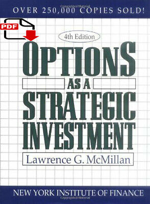 Options as a Strategic Investment /Option Volatility and Pricing A P.D.F b00k ✅