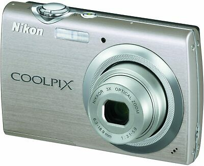 Nikon Coolpix S230 10MP Digital Camera with 3x Optical Zoom 3 inch Touch Panel