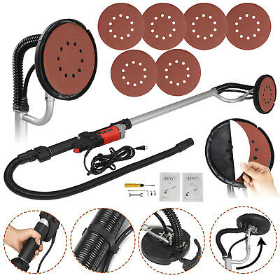 800 Watts Drywall Sander Commercial Electric Variable Speed Free Sanding Pad New