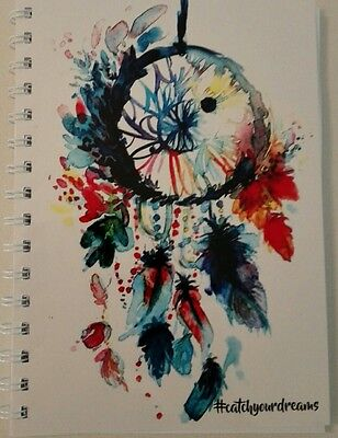 2020-2021 financial year diary dreamcatcher # A5 ONE WEEK TO PAGE