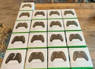 """(LOT of 17) Microsoft Xbox One wireless controllers BOX ONLY """"NO CONTROLLER"""""""