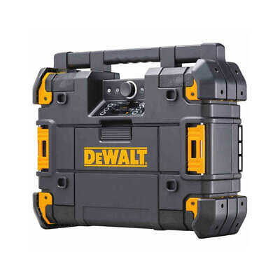 DEWALT DWST17510 TSTAK Portable Bluetooth Radio + Charger