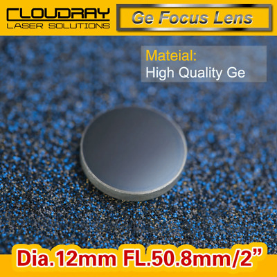 High Quality Ge Focusing Lens DIa. 12mm Focal 50.8mm for CO2 Laser Engraving ...