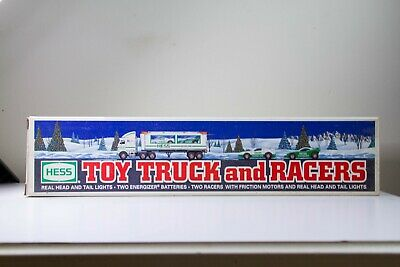 Hess 1997 Toy Truck and Racers