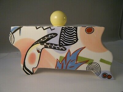 "Villeroy & Boch ""Emotion"" Modern Art Styled Porcelain Covered Box - France 6"""
