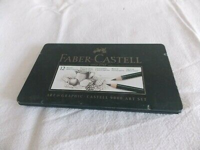 Faber Castell  12 crayons 9000  art set art graphic