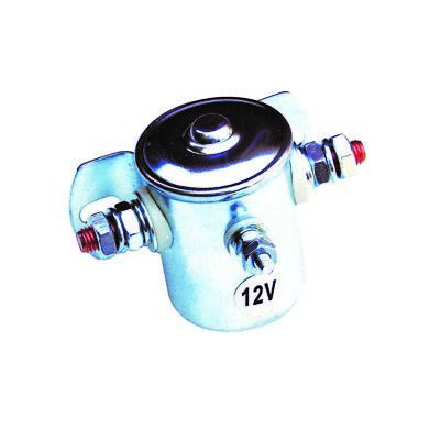 3 Pole 12 V 85 Amp Continuous Solenoid