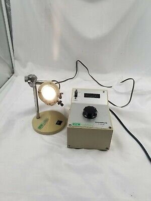 Olympus TGHM Microscope Power Supply With LSG Lamp Housing Light